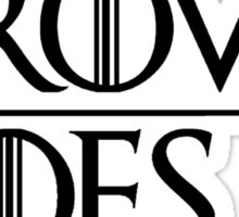 Crows Over Hoes Sticker