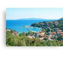 Croatia Inland Canvas Print