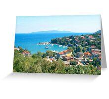 Croatia Inland Greeting Card