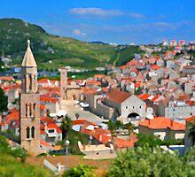 Croatia Stemple by JessicaRoss