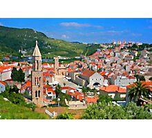 Croatia Stemple Photographic Print