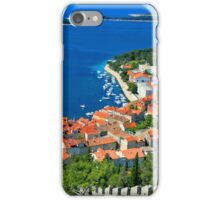 Croatia Coastal line iPhone Case/Skin