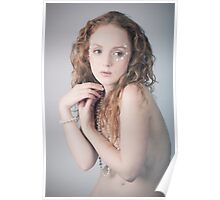 red haired beauty Poster