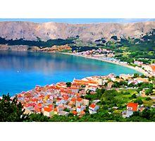 Croatia Portside Photographic Print