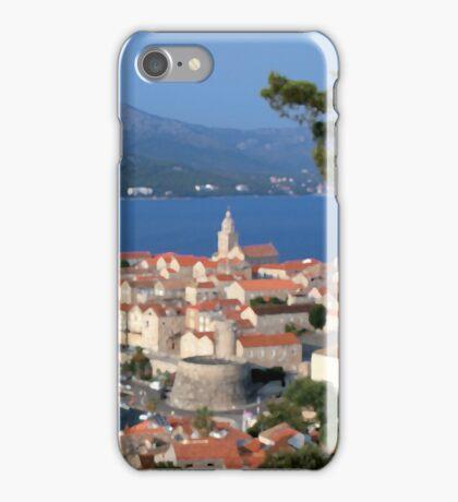 Croatia Harbor iPhone Case/Skin