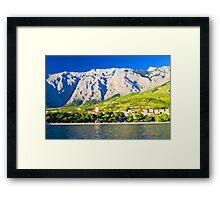 Croatia Mountainside Framed Print