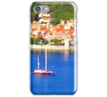 Croatia Boats iPhone Case/Skin