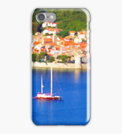 Croatia Boats iPhone Case/Skin