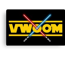 VWOOM Canvas Print