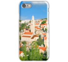 Croatia Cityscape iPhone Case/Skin