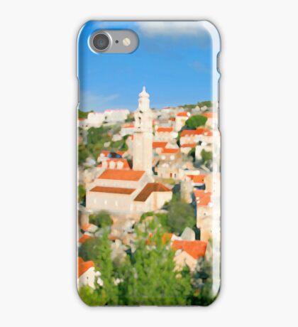 Croatia Cityscape iPhone Case/Skin