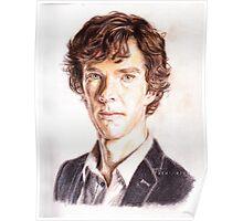 Sherlock - Color Pencils Poster