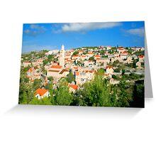 Croatia Cityscape Greeting Card