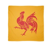 WALLONIE rooster coq Scarf