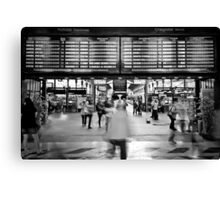 Everyday is a hustle and bustle - São Bento Train Station, PORTUGAL Canvas Print