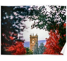 Clock Tower—Government House Tasmania Poster