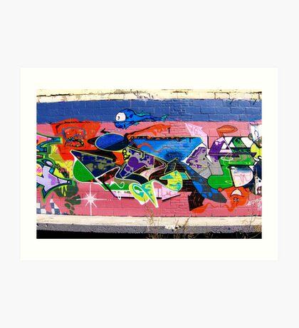Graffiti As Art - Art Print