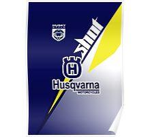 Husqvarna motorcycles Poster