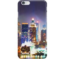 New York City Smoky Skyline iPhone Case/Skin