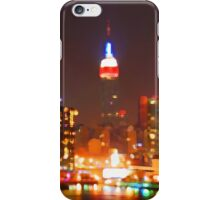 New York City Orange Skyline iPhone Case/Skin