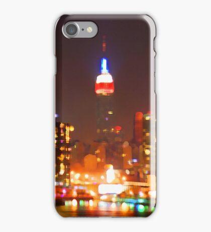 New York City Orange Skyline iPhone Case/Skin