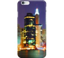 New York City Colorful Skyline iPhone Case/Skin