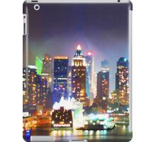 New York City Smoky Skyline iPad Case/Skin