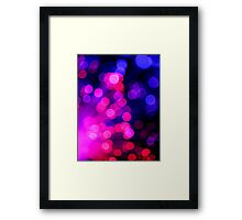 Pretty Circles............................ Framed Print