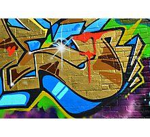Graffiti close up - Photographic Print