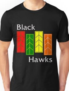 Black Hawks (reverse colors) T-Shirt