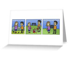 Love is Teamwork Greeting Card