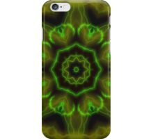Green Lightning iPhone Case/Skin