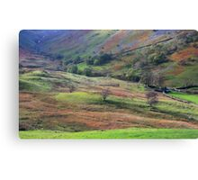 LAke District Landscape Canvas Print