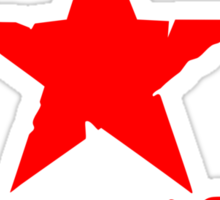 No Pasaran Red Star Stickers Sticker