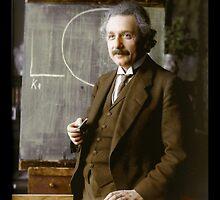 Albert Einstein, 1921 by Dana Keller
