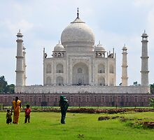 The Taj Mahal India by PhotoStock-Isra