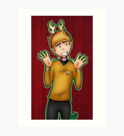 Christmas - Jim Kirk Art Print