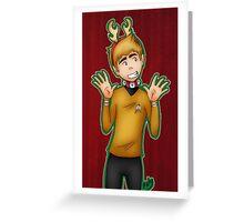 Christmas - Jim Kirk Greeting Card