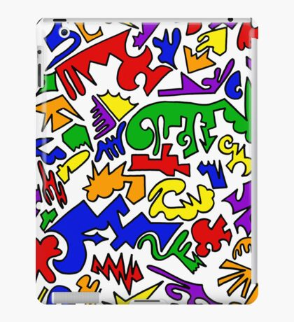 Urban Chaos Colorful iPad Case/Skin