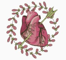 heart anatomical Kids Clothes