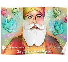 Sri Guru Nanak Dev Ji Poster
