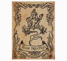Mermaid Tarot Sticker: High Priestess by SophieJewel