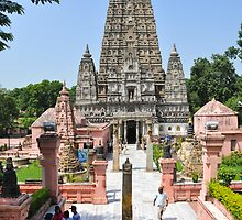 Mahabodhi Temple, Bodh Gaya, Gaya, Bihar, India by PhotoStock-Isra