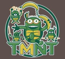 Teenage Minion Ninja Turtles by 8BitWorks