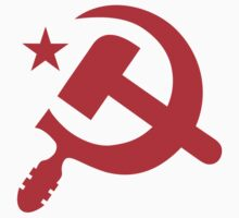 Communist Hammer and Sickle Emblem Stickers by NeoFaction