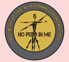 Body Weight Hip Hinge - My Performance Enhancement Drug Kids Tee