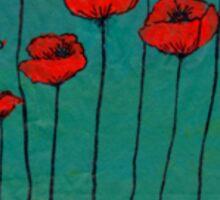 Devotchka Poppy Sticker Sticker