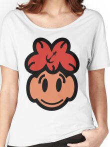 Cute Smiling Face Women's Relaxed Fit T-Shirt