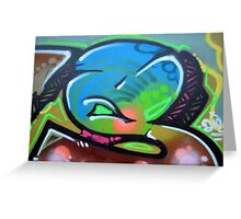 Graffiti As Art  Greeting Card