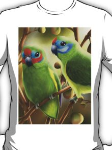 Double-eyed fig parrots T-Shirt